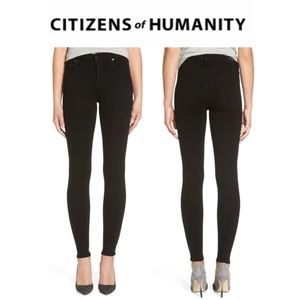 Citizens of Humanity Avedon Black Skinny Jeans